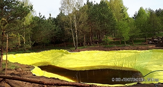 PLASTFOIL® GEO – is the reliability guarantor of the Polish decorative ponds
