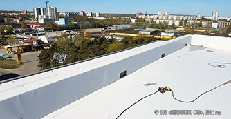 Roof of the new-built house in Tallinn is under a reliable protection of PLASTFOIL®